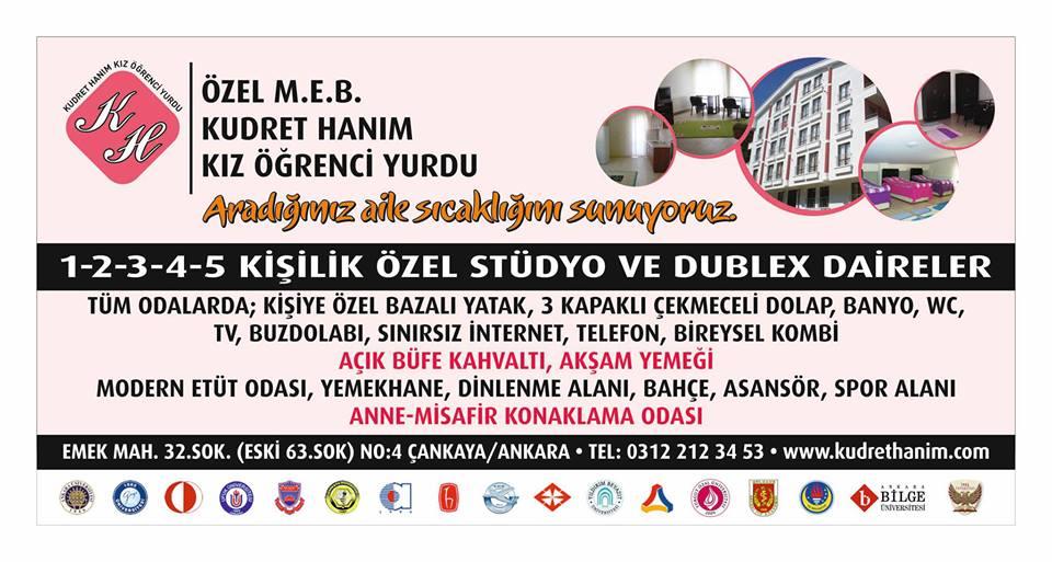 Ankarada Kız Öğrenci Yurdu