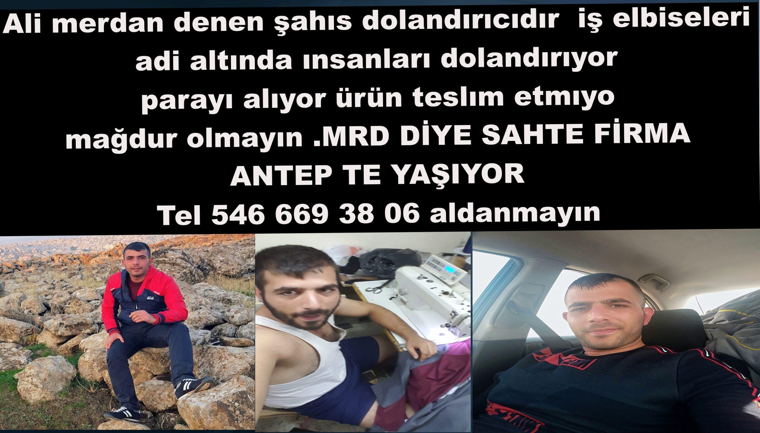 MRD İŞ ELBİSELERİ